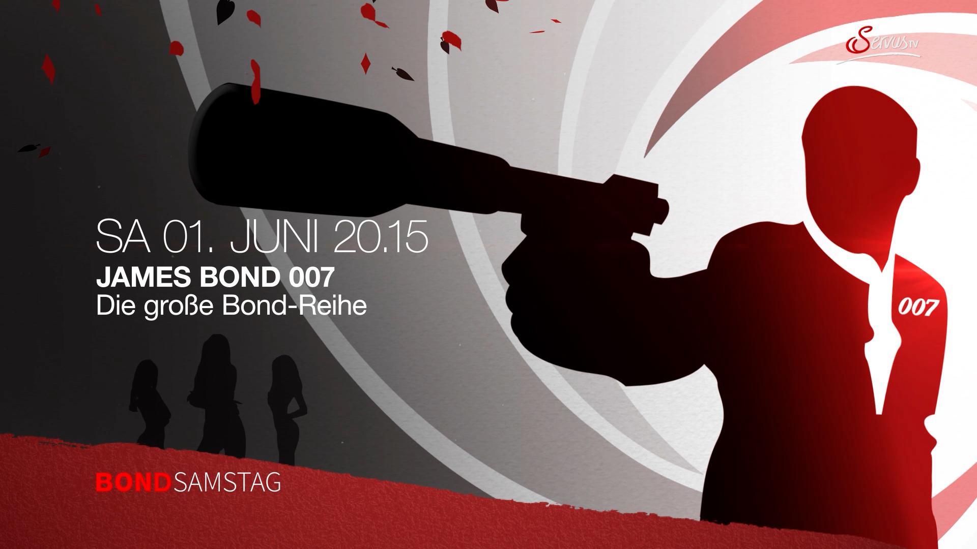 Servus TV James Bond Ankündigungstrailer