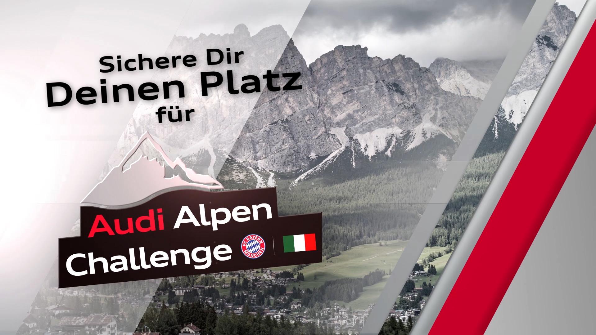 Audi Alpen Challenge Werbespot