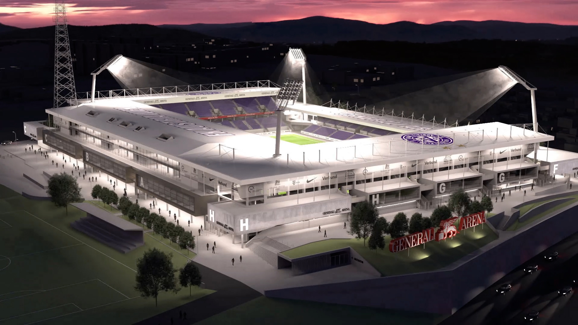 Austria Wien Stadion Content
