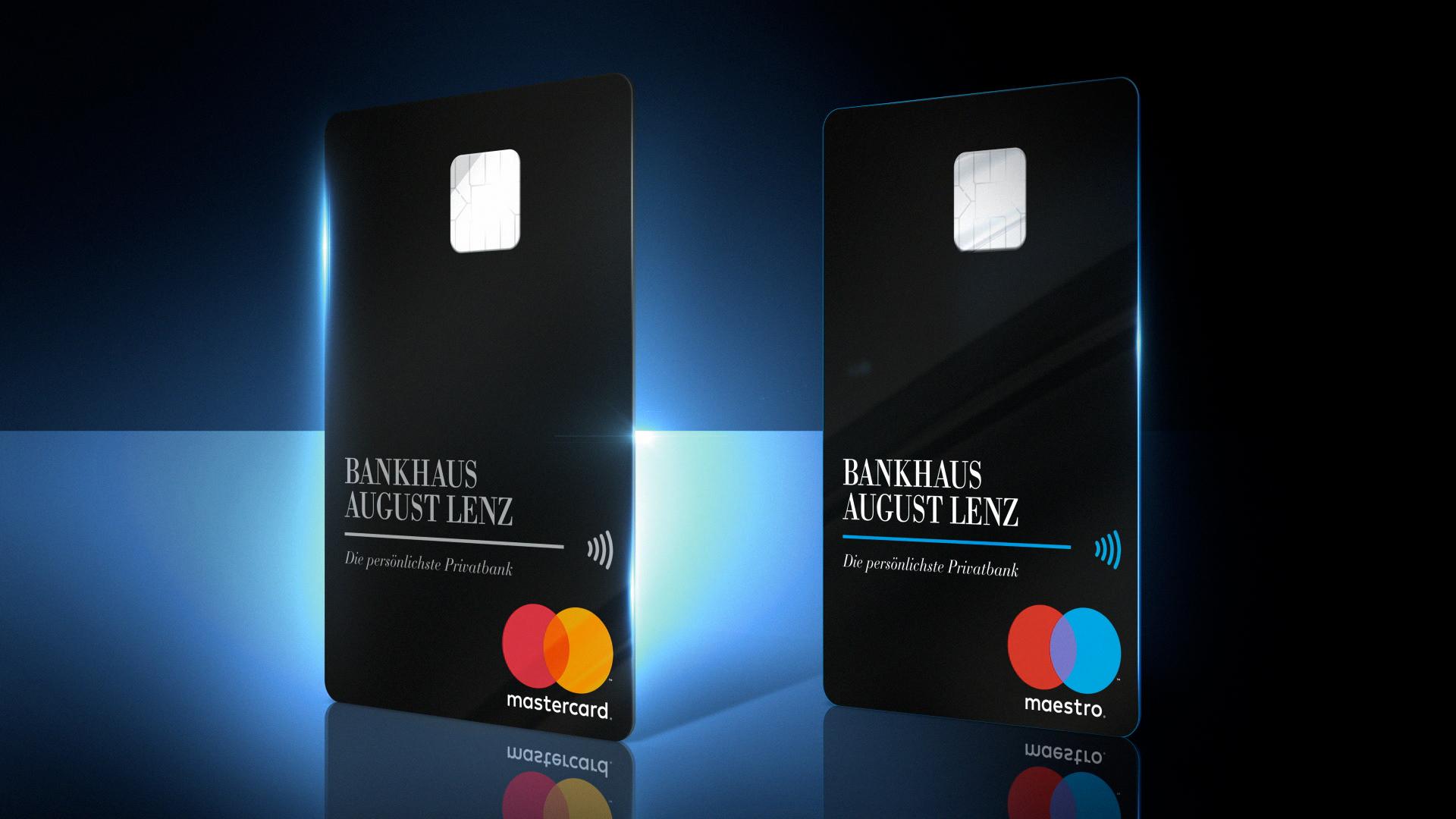Bank Lenz Bankkarte Motion Design