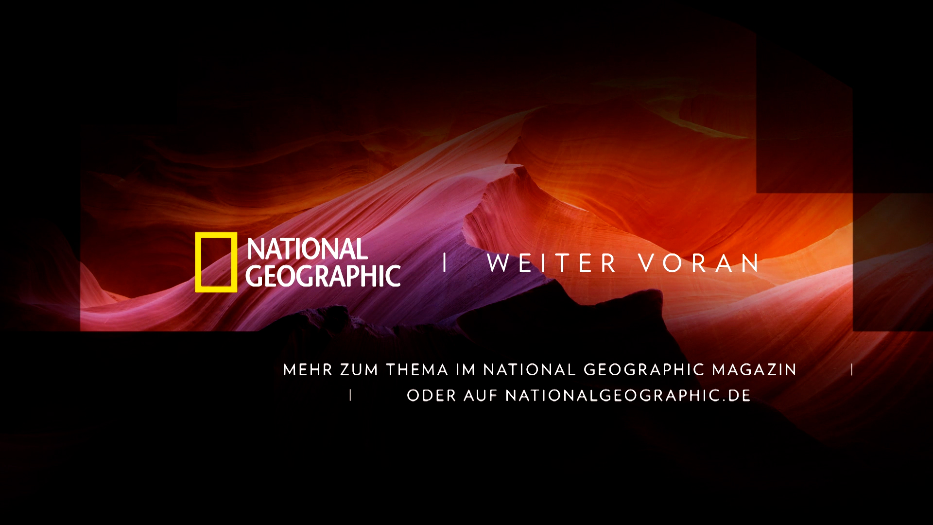 National Geographic Opener Motion Design